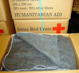 Charity IFRC Blankets